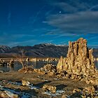 Moon Over Mono by Kurt Golgart