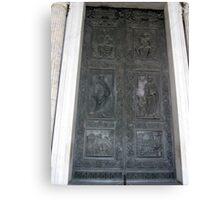 Doors of Europe-St. Peters Canvas Print
