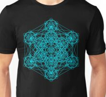 Infinity Cube Light Blue Unisex T-Shirt