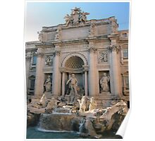 Trevi Fountain 1 Poster