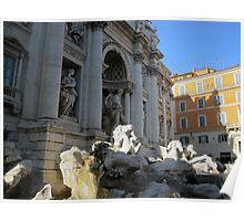 Trevi Fountain 2 Poster