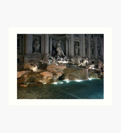 Trevi Fountain 5 Art Print