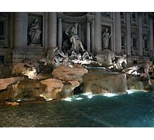 Trevi Fountain 5 Photographic Print