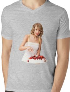 Taylor the Cook Mens V-Neck T-Shirt