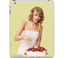 Taylor the Cook iPad Case/Skin