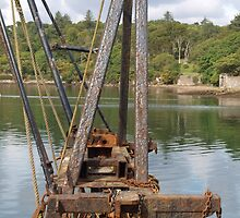 Rust, Lines and a Harbour by kalaryder