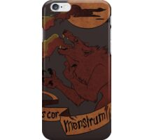 Human Heart, Monster Soul iPhone Case/Skin