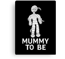 Mummy To Be Canvas Print
