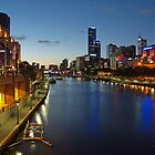 First Star over Melbourne by Ian Colley