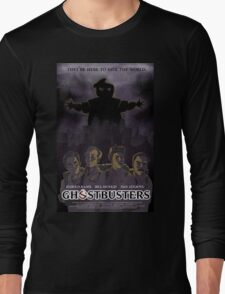 Ghostbusters - Poster Version Long Sleeve T-Shirt