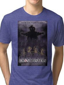 Ghostbusters - Poster Version Tri-blend T-Shirt