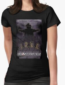 Ghostbusters - Poster Version Womens Fitted T-Shirt