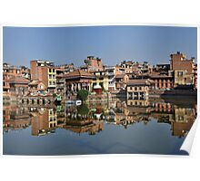 Reflections on Patan Poster