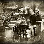 Taikang Lu Barber by Luke Griffin