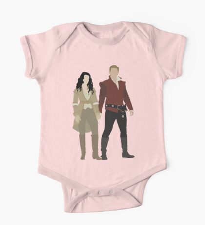Snow White and her Prince Charming One Piece - Short Sleeve
