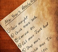 Resolutions? by mija