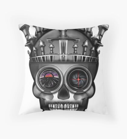 Crown of Swords, Majesty of the Undead Throw Pillow