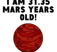 59th Birthday Mars Years by GiftIdea