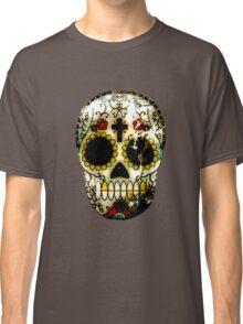 Day of the Dead Sugar Skull Grunge Design Classic T-Shirt