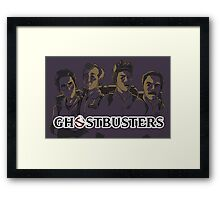 Ghostbusters - Singular Version Framed Print