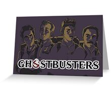 Ghostbusters - Singular Version Greeting Card