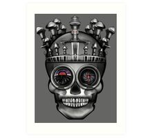 Crown of Swords, Majesty of the Undead Art Print