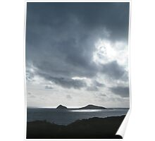 Silver Dusk at Wilson's Promontory Poster