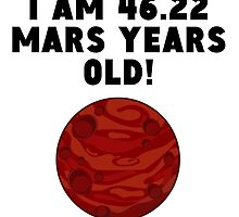 87th Birthday Mars Years by GiftIdea