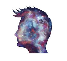 Tenth Doctor Who Galaxy Silhouette by nsfwhitebread