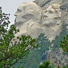 Two Faces of Rushmore by Graeme  Hyde