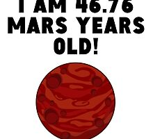 88th Birthday Mars Years by GiftIdea