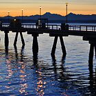 Twilight Pier by Emilie Trammell