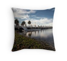 Cunningham Pier, Victoria 2010 Throw Pillow