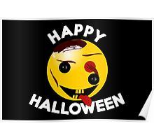 Happy Halloween - Smiling Zombie for Kids Poster