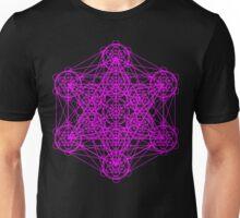 Infinity Cube Pink Unisex T-Shirt