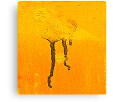 Martian Jellyfish Canvas Print