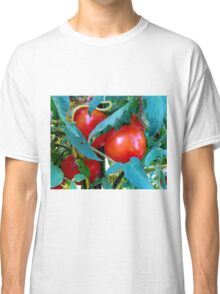Ripe Red Tomatoes Classic T-Shirt