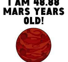 92nd Birthday Mars Years by GiftIdea