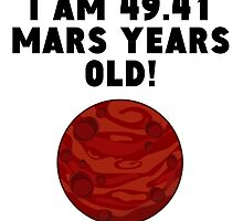 93rd Birthday Mars Years by GiftIdea