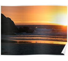 Tequila Sunset - Wilson's Promontory Poster
