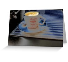 Cup of Coffee. Greeting Card