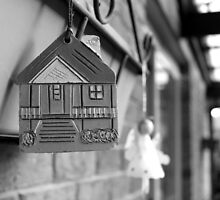 House and Angel Hanging by macaus18
