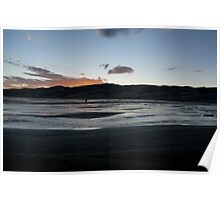Sunset at The Great Sand Dunes Poster