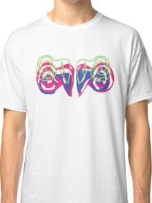 Psychedelic Graffiti Ram- White  Classic T-Shirt