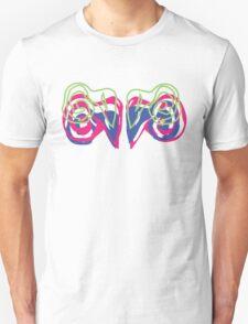 Psychedelic Graffiti Ram- White  T-Shirt