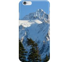 Mount Shuksan in Snow iPhone Case/Skin