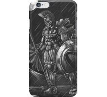 Lost comrades under the moon iPhone Case/Skin