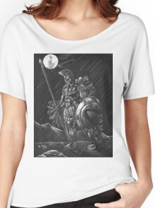 Lost comrades under the moon Women's Relaxed Fit T-Shirt