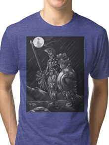 Lost comrades under the moon Tri-blend T-Shirt