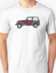 Hand Drawn Jeep Wrangler T-Shirt